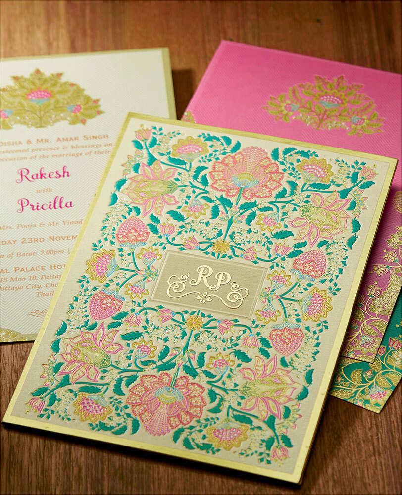 Digital Wedding Invitation Card